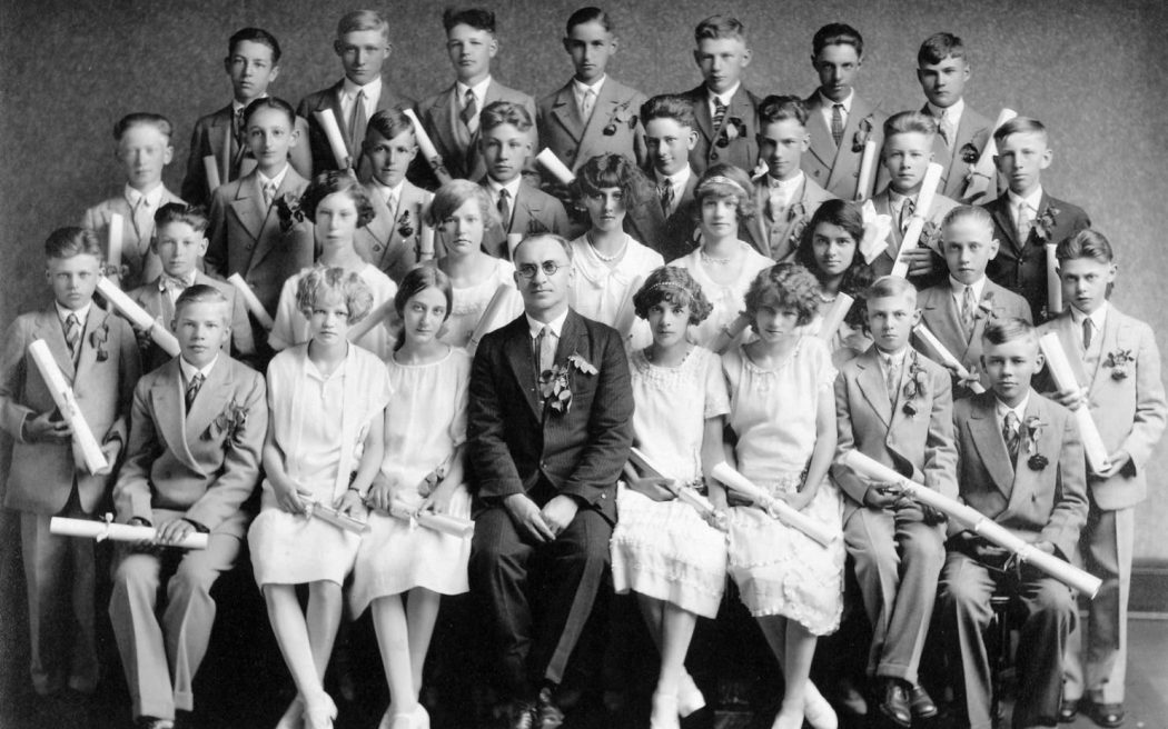 Graduating 8th Grade Class 1926
