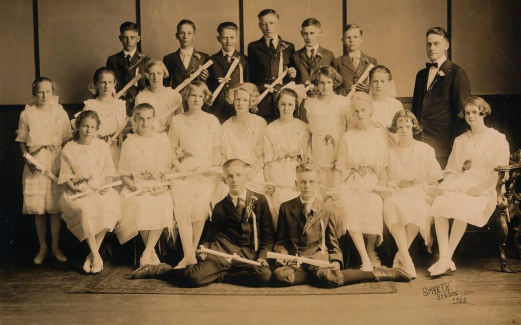 Williams St Christian School Class of 1922